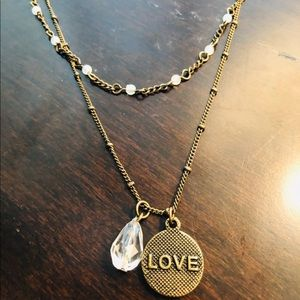 NWT Love Token Necklace